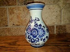 Vintage Delft Ceramic Pitcher Made in Holland Handgemalt