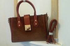 Ladies Handbag With A Differnce. Faux Fur. Turn Lock Fast Delivery.