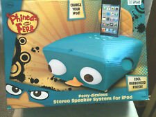 Disney Perry-diculous Ipod Phineas and Ferb Stero Speaker System