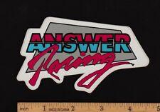 ANSWER RACING Vintage Motocross STICKER Honda Suzuki Yamaha Kawasaki Motorcycle