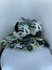 "Rollerblade ""Tempest 90"" Clearance Size 6 Womens with free body protection."