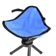 Camping Hiking Fishing Foldable Chair 3 Picnic Portable Legs Stool Seat Outdoor