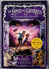 Chris Colfer: The Land of Stories The Enchanted Returns Signed Softcover