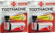 Red Cross Toothache Kit ( 2 Pack )   FRESH PHARMACY STOCK!