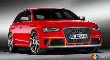 NEW GENUINE AUDI RS4 B8 O/S RIGHT FRONT LOWER GRILL GLOSS BLACK 8K0807682R T94