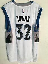 Adidas NBA Jersey Minnesota Timberwolves Towns White sz XL