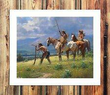 Native American indians Painting HD Print on Canvas Home Decor Wall Art Pictures