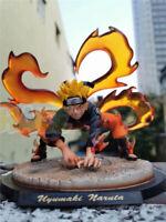 "Uzumaki Naruto Nine Tails Kurama PVC Figure Model 8"" New"