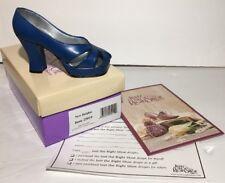Just The Right Shoe New Heights Miniature Shoe Figurine Rare Slip on Mini