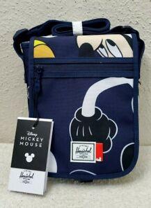 New Herschel x Disney Mickey Mouse Lane Small Messenger/Crossbody Bag