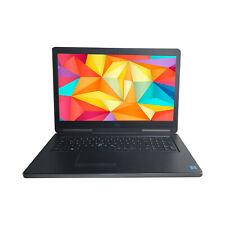 Dell Precision 7710 XEON E3-1505M 32GB 512GB M.2 17,3`1920x1080 nVidia M4000M DE
