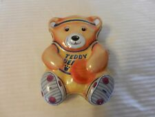 Williams/'s Toffee Teddy Bear Old Shop Small Metal Tin Sign Vintage Food 98