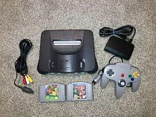 Nintendo 64 N64 Bundle Lot 1 Controller Tight 2 Games Mario Banjo Tested Nice