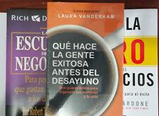 Que Hace la Gente Exitosa Antes Del Desayuno by Laura VanderKam (2014, Paperback