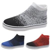 Damen Sneaker Sportschuhe Flache Laufschuhe Freizeit Socken Turnschuhe Schuhe