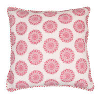 Cotton Hand Block Print Decorative Indian 18X18 Cushion Cover Throw Pillow Cases
