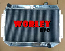 For Holden Kingswood Radiator Chevy Engine HQ HJ HX HZ V8 AT Auto 3 ROW Aluminum