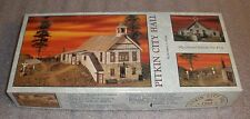 Pitkin City Hall Builders in Scale Rare limited run kit #1142  of 1500 made