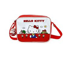 Hello Kitty Mini Messenger Carry Bag Shoulder PVC Strapped