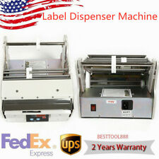 Commercial Label Peeling Machine Fully Automatic Label Dispenser 110v 5 180mm