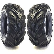 (2) 26X12.00-12 Mud Crusher ATV Tires 6Ply HEAVY DUTY 26x12x12 26x12.00-12 26x12