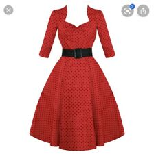 Hell Bunny 4xl Dress Red