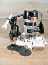 """Vintage & Tested Craftsman #315.17370 1/4"""" Commercial Router & #925069 Bushings"""