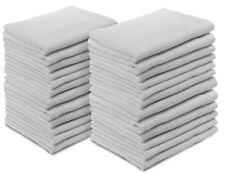 Towels Cotton Hand Towels White 20 by 35-Inch Pack of 12