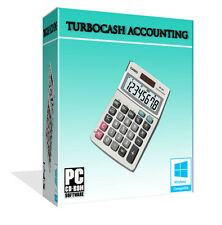 NEW TurboCASH Professional Business Accounting Software Calculate Profit, VAT