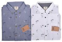 Vans Men's Classic Fit Houser Palm Casual Button Up Shirt Choose Color & Size