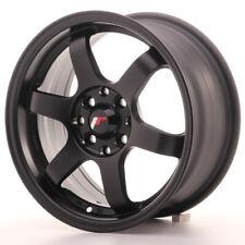 Japan Racing JR3 Alloy Wheel 15x7 - 4x114.3 / 4x100 - ET40 - Matt Black