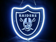 Oakland Raiders 3D Carved Neon Sign Beer Bar Light Home Decor Hand Made Artwork