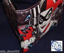 Dc comics harley davidson wallets for men ebay harley quinn bi fold wallet joker batman cosplay dc comics us seller great gift voltagebd Gallery