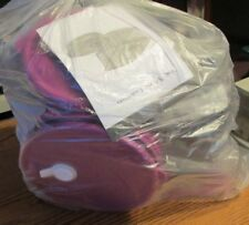 NEW HOSTESS ONLY LOT OF 18 PIECE OF PURPLE VENT N SERVE-TUPPERWARE-9 TOPS-9 BOTT