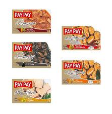 Lot de 5 Boites de conserves Pay Pay . Calamars dans leur encre,Calamars en sauc
