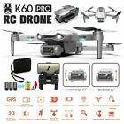 GPS With 6K HD Camera 5G Wifi FPV Drone RC Quadcopter Follow Me Adults Anti-Wind