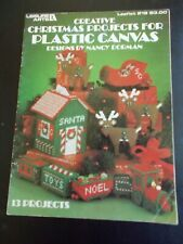 Creative Christmas Projects For Plastic Canvas Book  ~ Leisure Arts ~ 1982