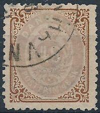 [37484] Denmark 1870 Good RARE stamp Very Fine used signed V:$360