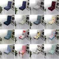 New Removable Elastic Stretch Slipcover Short Dining Room Chair Seat Cover Decor