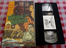 The Bride And The Beast aka Queen Of the Gorillas - Ex-rental VHS video