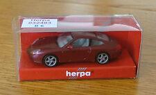 Voiture échelle 1:87 HO train Herpa Porsche 996 met neuf en boite ref032483