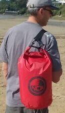 20L drybag light weight waterproof HD nylon. Shoulder strap. Carry lots of kit