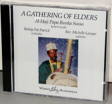 WATER LILY CD WLA-AS-25-CD: A Gathering of Elders - Susso, Patrick, OOP 1993 USA