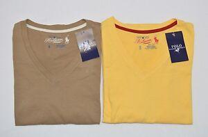 Polo Ralph Lauren Men Sleepwear Nightshirt Short Sleeves V-neck Top S  NWT