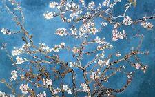 Grande STAMPA INCORNICIATA-Vincent Van Gogh FIORE blossoms REPLICA (FOTO PITTURA)