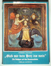 BOOK German Rural Painted Folk Furniture icon images of saints wardrobe antique