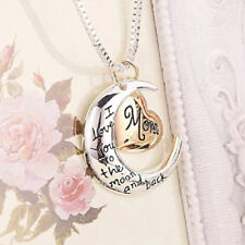 I Love You to The Moom and Back Pendant Necklace With Gift Bag