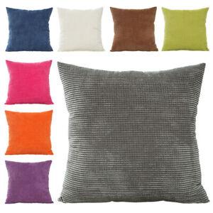 Kissenbezug Kissenhülle grau beige rosa blau lila grün Braun 50x50 40x40 40x60