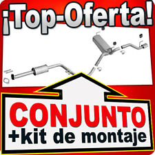 OPEL ASTRA J 1.4 T 120/140HP Hatchback/GTC CROMO Silenciador Escape 7A1