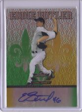 EDDIE BUTLER 2012 Leaf Valiant ROOKIE AUTOGRAPH ROOKIE CUBS GREEN YELLOW AUTO RC